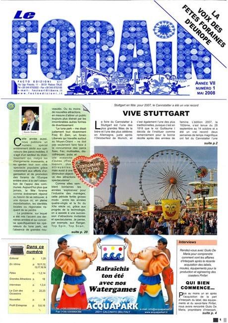 Magazine le Forain